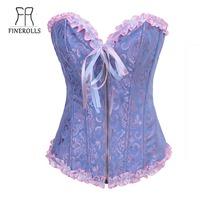 FINEROLLS Women Fashion And Hot Sale Beautiful Corset Dress Accept OEM  Free Shipping