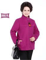 Women's Spring Polar Fleece Fabric Sweatshirt Plus Size Outerwear Thickening L XL XXL 3XL 4XL 5XL Big Size with hooded B1395