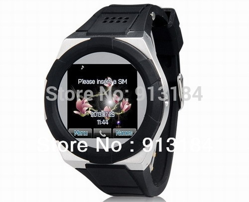 A6 Watch Phone with 1.54 inch Touch Screen 1.3MP Camera Quad Band Watch Mobile Phone with JAVA, Bluetooth(China (Mainland))