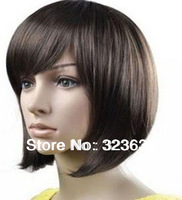 2014 hotsale bangs bob human hair wig 12 inch brazilian bob lace front wigs with baby hair lace front wig human hair short