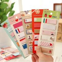 10pcs/lot Creative Stationery Sticky Notes N Times Sticker Memo Pad Diary Book Notepad School Promotion Gifts Wholesale