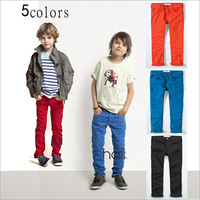 lys3 new 2014 brand boys pants 2-10 age black / blue / khaki roupa infantil children pants 6pcs/ lot free shipping