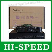2014 Vu+ solo2 twin tuner decoder vu solo 2 vusolo2 Linux reciever 1300 MHz CPU 2 dvb-s2 tuner STB digital satellite tv recever