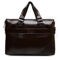 Free Shipping [2 Colors] New Men's Business Casual Shoulder Bag Men Laptop Briefcase Men Messenger Bags