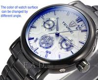 New 2014 Men military full steel brand Automaticself-wind relogios wristwatch mechanical hand wind sport luxury watch for man