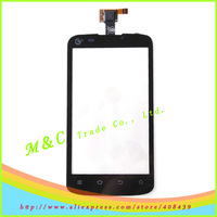 Original Digitizer Touch Screen Glass lens FOR ZTE V889S cellphone front panel by hk free shipping