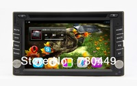 2 Din Pure Android 4.1 Car PC, built-in Car DVD Player,GPS ,BT,WiFI,Dual core 1GHz+1G DDR3+8GB Flash