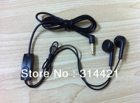 50pcs/lot free shipping High quality handfree headphone earphone with on/off button For Samsung Galaxy Ace S5830