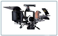 Tilta TT-BMC-07 BMCC Rig With Follow Focus  MB-T05 new 4*4 lightweight matte box and 95Wh V Mount Battery  For BlackMagic Camera