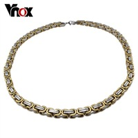 Wholesale  statement necklace men 24 inch  Necklace Stainless Steel Chain Necklace Jewelry