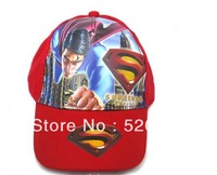 cartoon superman three-dimensional Hats Boys Children Cartoon Outdoor cap Adjustable Baseball Cap