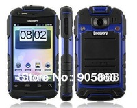 Discovery V5 Android 4.2.2 MTK6572 capacitive screen smartphone Waterproof Shockproof WIFI Dual camera 5COLORS 2G ROM cellphone