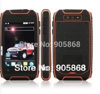 Hummer H1+ Dual Core 3.5inch Rugged smartphone MTK6572A GPS Android 4.2.2 Dustproof shockproof 960*640  2800mah waterproof phone