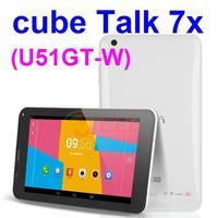"""Cube Talk 7x / Cube U51GT C4 7"""" IPS MTK8382 Quad Core Android 4.2 1GB RAM 8GB ROM Bluetooth GPS dual sim card 3G Tablet  PC"""