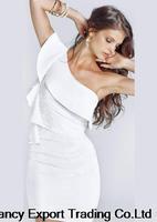 free shipping 2014 summer white float  lingerie skinny belt sexy club dresses bodycon  vestidos women EQ088