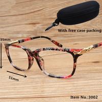 fashion men & women eye glasses frame,new brand design PC eyeglasses,2014 retro optical frame for women prescription spectacles