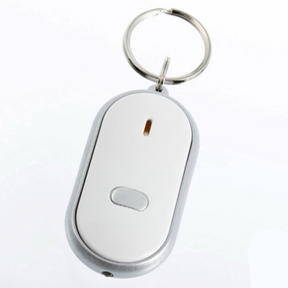 Whistle Sound Control LED Key Finder Locator Find Lost Keys Chain Keychain DropShipping(China (Mainland))