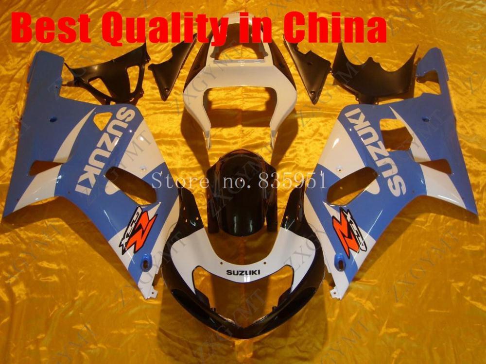 for Suzuki GSXR750 Fairing Kits 2005 for Suzuki GSXR600 Fairing Kits 2005 for Suzuki GSXR750 Body Kits 04 05 K4 ZXGYMT(China (Mainland))