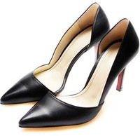 889-23 New 2014 Women's Pumps Sexy Ladies' Pointed Toe Red Sole 9CM Classic Party Stiletto Thin High Heels Career Shoes