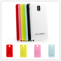 All kinds of bright colors Mobile Phone Housings for samsung galaxy note3,Candy color glossy battery back cover