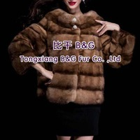 BG29665 Free Shipping Real Pieces Of  Mink Fur Clothes For Women Wholesale Retail Winter Mink Fur Clothes