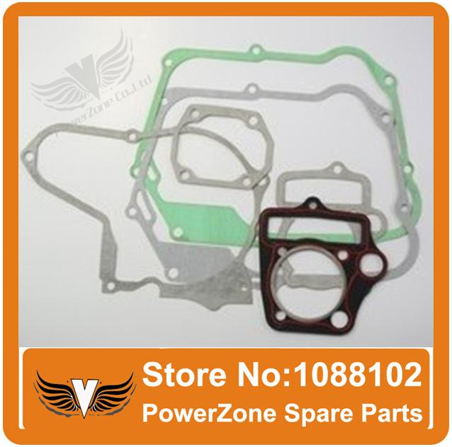 Zongshen Lifan Loncin YX Horizontal Engine Gasket Paper of 50cc 70cc 90cc 110cc 125cc Dirt bike, Pit Bike ATV Quad Gasket Set(China (Mainland))