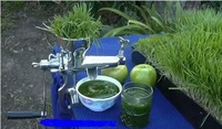 stainless steel manual wheat grass juicer hand juice machine manual juicer