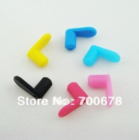 Free shipping 120pcs/lot CISS cartridge refillable ink cartridge color rubber plug For CANON HP Brother
