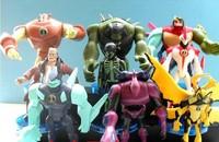 Free Shipping Cartoon Ben 10 PVC Action Figure Set Toy Wholesale (10 pcs/set ) Ben10 Classic Toys