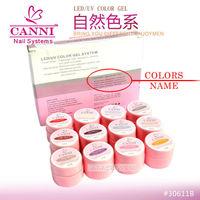 Soak off pure colour led/uv gel kit gel #30611