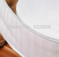 Free shipping white cotton curtain tape, curtain cloth  width 7cm