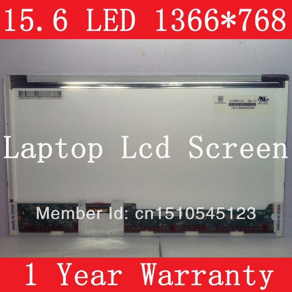 N156B6-L04, LAPTOP LED LCD SCREEN, WXGA resolution (1366*768 pixels), Brand new, 1 year warranty, LED backlight(China (Mainland))