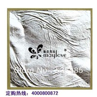 Free shipping!100% pure silver 11 * 11cm white silver foil paper really pure silver 999 silver decorative gilding