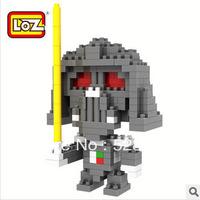Free Shipping, 3D Educational Toys, Models assembled toys, Classic Cartoon LOZ Mini Diamond Blocks, Best Gift, Darth Vader 9334