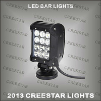 4 row led light bar 36w cree led light bars KR9041-36 High/Low beam in the one used for tuck lights