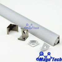 DHL/FEDEX /EMS Free shipping-  LED profile corner housing