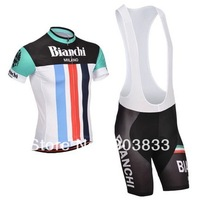 2014 New Arrival ProTeam  Bianchi Kit Cycling Wear Bike Sets  Jersey+Bib Shorts