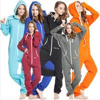 2014 spring women cotton jumpsuit and romper hoody sportsuit  unisex unique zip hoody women sportswear