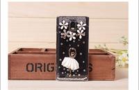 For Huawei G600 U8950 P6 white ballerina diamond mobile phone case
