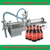 Automatic perfume filler liquids piston filling machinery packaging equipment tools pneumatic olive oils packer anti-rust 2500ml