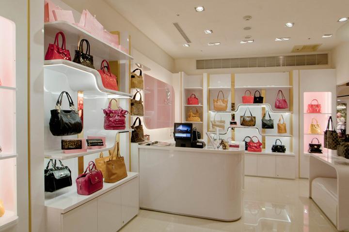 Decoracion Para Tienda De Ropa Mujer ~ diseno decoracion para tienda de bolsos exhibidor para tienda de
