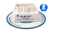 2014 Top selling SUPER MINI ELM327 Bluetooth OBD2 V1.5 White Smart Car Diagnostic Interface ELM 327 Wireless Scan Tool