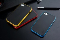 In Stock New SPIGEN SGP NEO Hybrid Color Series Cover Case for iPhone 4 4s 1 PCS/Lot Free Shipping