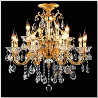 Free shipping 29' Elegant Chandelier Crystal Light, Hot Sale Modern Chandelier Pendant Lamp MD88008 L8+4