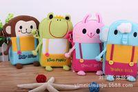 HX-Design authentic Korean super cute cloth camera bag phone bag Messenger bag cute animals change