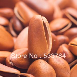 Original Free Shipping Premium pine nut red pine original wild pine nuts pine nuts large(China (Mainland))