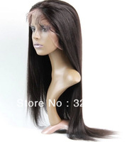 2014 top quality cheap wig brazilian virgin hair  10-24 inch  brazilian lace front wigs with baby hair in stock