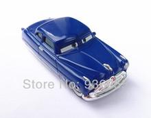 Brand New Free Shipping Pixar cars 2 Toys Diecast metal Doc Hudson HORNET HANSON Blue Doc Hudson cars 1:55 scale Children's Toys(China (Mainland))
