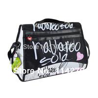 Wholesale Shoulder Bag Women 2014 Tote Bag printing For Women Quality Black hand bag SO-260B