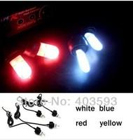 "Red Blue Xenon Strobe light, DC12V, 55W, ""U"" type xenon strobe bulbs,   Strobe Hide a way fog light"
